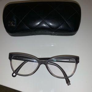 Chanel cat eye glasses